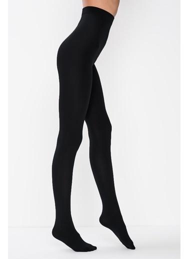 Penti Siyah Termal Külotlu Çorap Siyah
